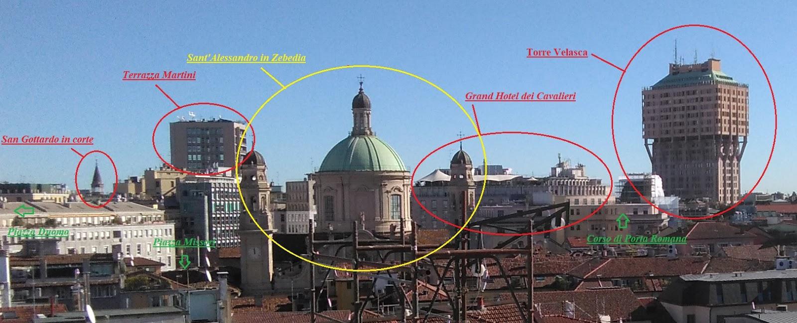 Io sono...: Milano Skyline - Hotel dei Cavalieri