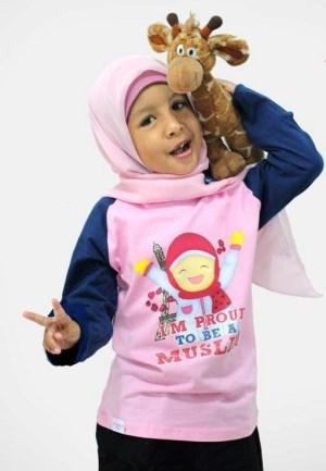 Baju Muslim Anak Perempuan modis dan nyaman