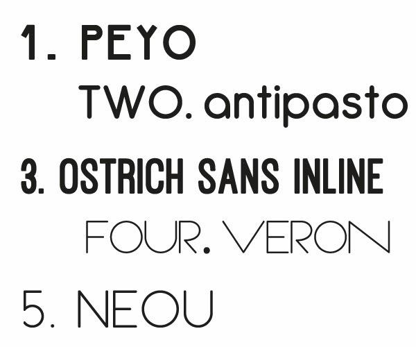 5 Sans Serif Fonts (FREE) - swell and stylish