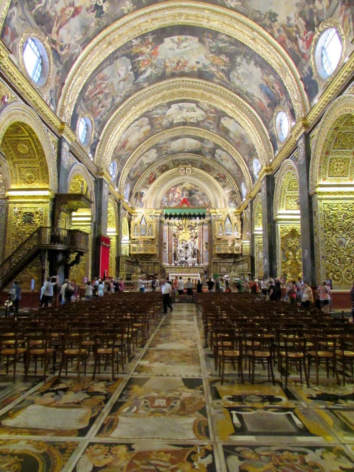 Malta. Malte. Il-Bet Valletta. La Valeta. Catedral. San Juan