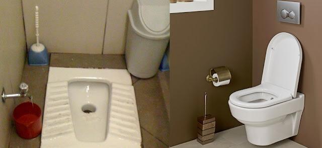 tuvalet ve klozet farkları