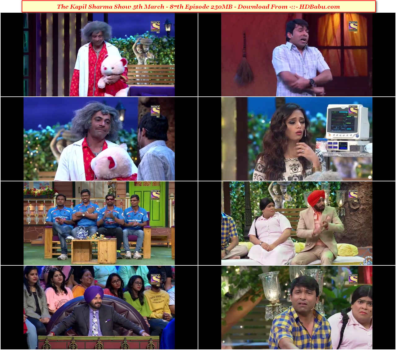 The Kapil Sharma Show Episode 87 – 05 March 2017