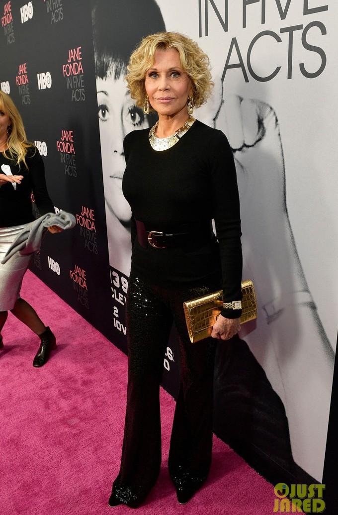 Jane Fonda - moda para mulheres maduras