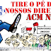 Após reajuste 0% para os servidores, travar avanço de competência, ACM Neto que reduzir direitos da aposentadoria do Servidor!