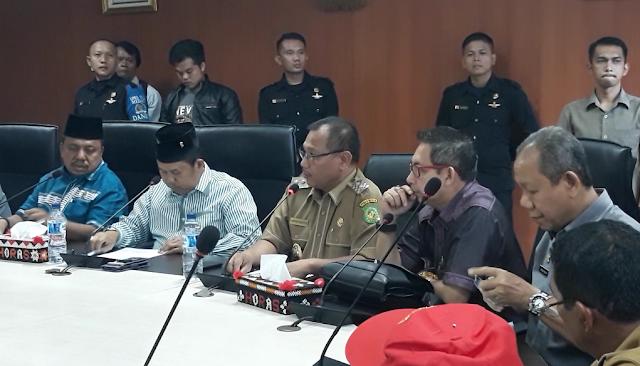 DPRD Kota Medan Terima Perwakilan FORMAS Kecamatan Polonia