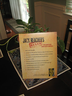 Jack Reacher's Rules for Surviving Book Expo America