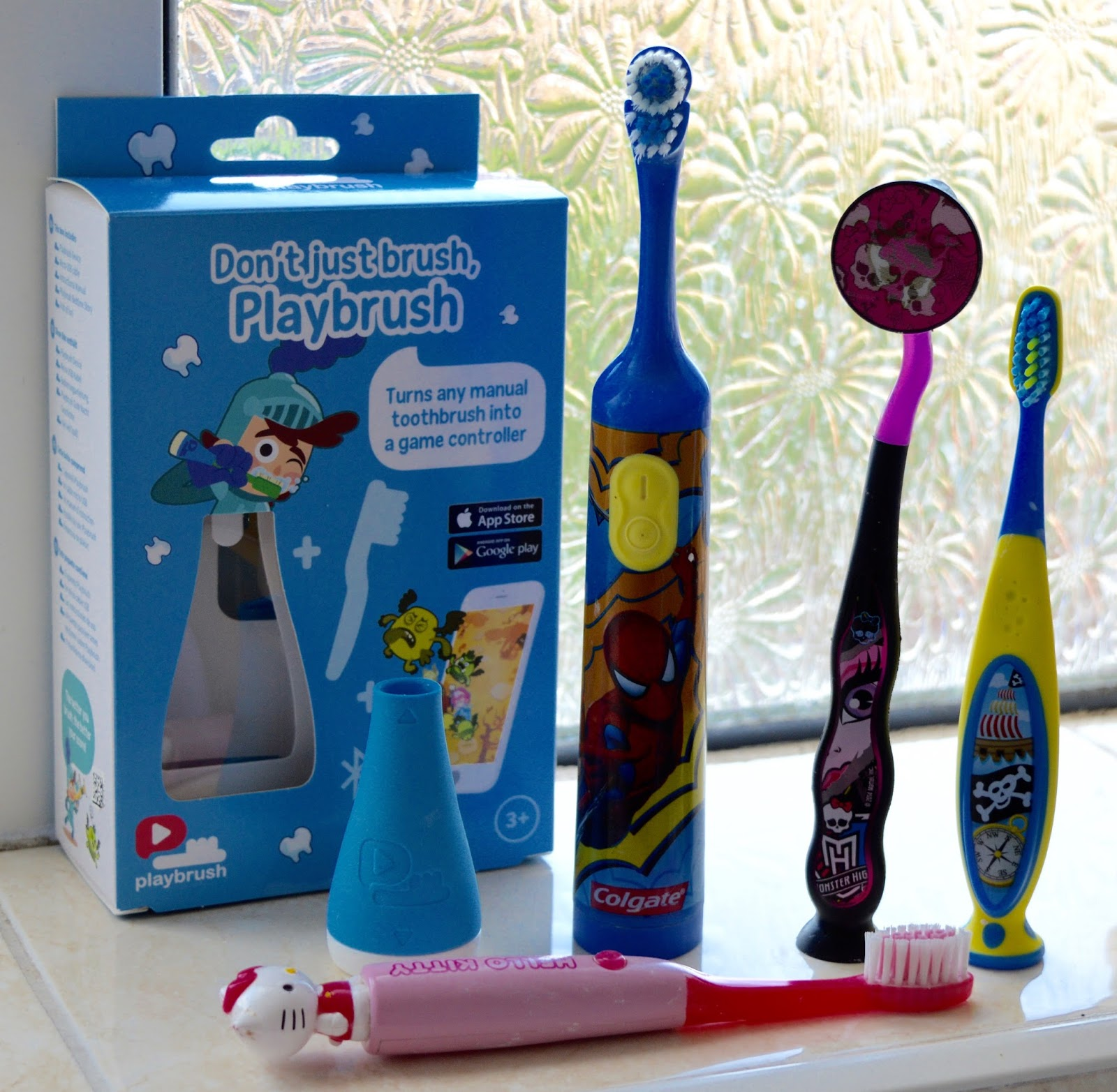 Don't just brush, Playbrush review | Turn your child's toothbrush into a fun game - not compatible with all brushes