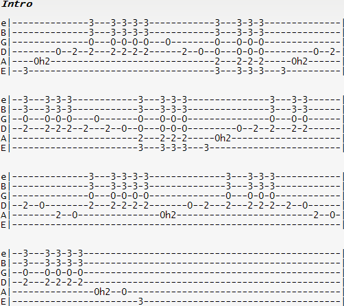 Guitar : guitar tabs wish you were here Guitar Tabs Wish You ...