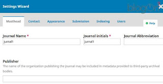 Cara Membuat Jurnal Baru (Create a New Journal) pada OJS 3.1.1