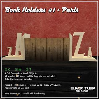 [Black Tulip] Mesh - Books Holders #1