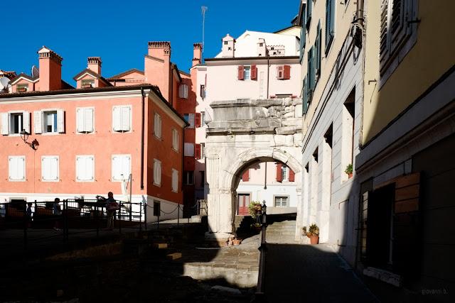 Arco Riccardo a Trieste