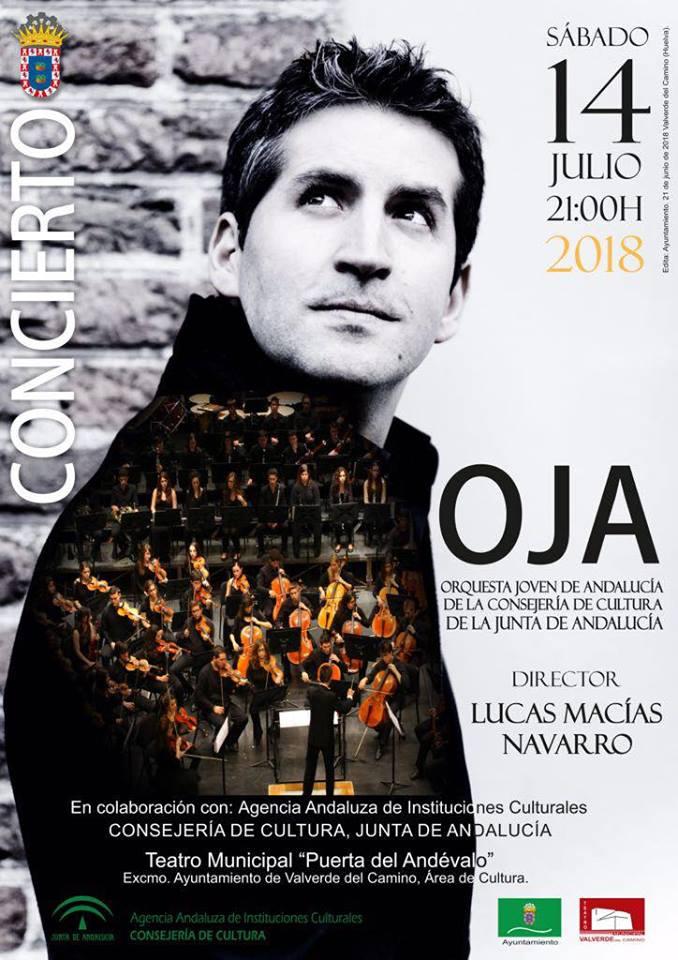 La OJA y Lucas Macías en Concierto