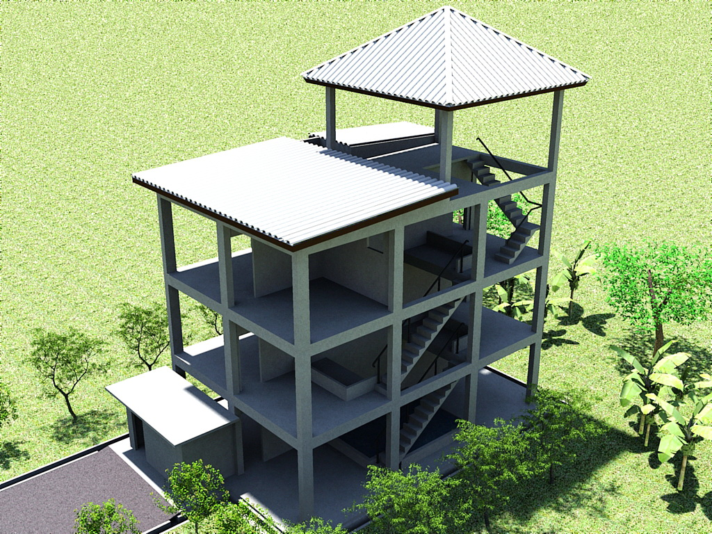 Desain Rumah Walet Bahan Kayu
