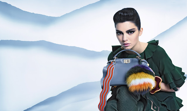 Fendi's FW16 Ad Campaign Starring Kendall Jenner