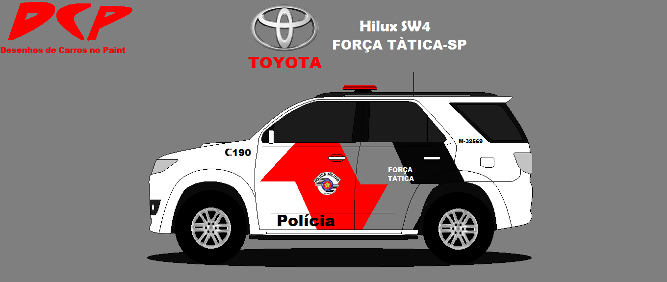 Toyota Hilux Sw4 For 231 A T 225 Tica Sp Dcp Design