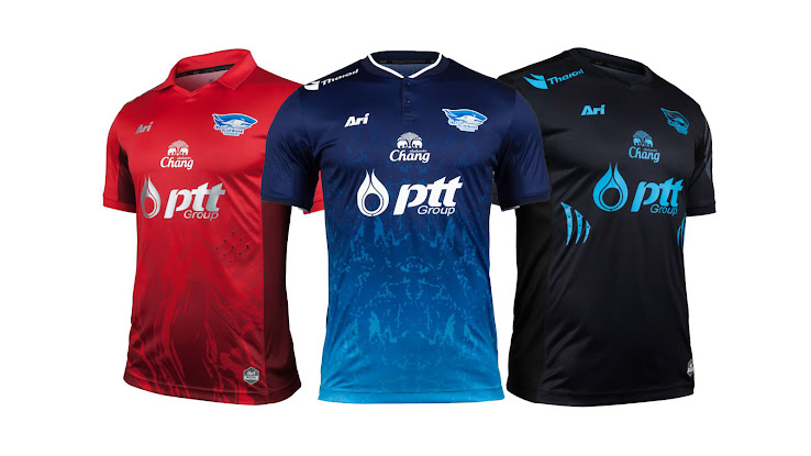 The Chonburi kit is also presented in the player version. As befits such a  kit 85a45822c