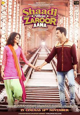 poster Shaadi Mein Zaroor Aana 2017 Hindi HD 300MB