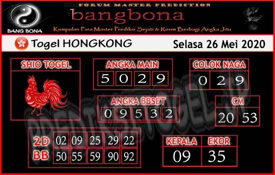 Bangbona Togel hongkong