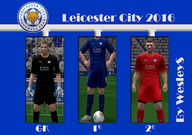 Pes  Leicester City Formation