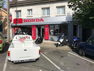 Honda Corbeil CMS 91 partenaire Pierre Volpatti pour la saison moto 2018