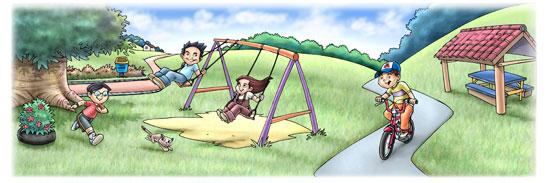 Contoh Karangan Sekolah Rendah Aku Sebuah Taman Permainan