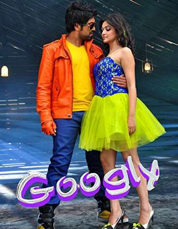 Poster Of Googly 2013 Dual Audio 720p DVDRip [Hindi - Kannada] ESubs Free Download Watch Online Worldfree4u