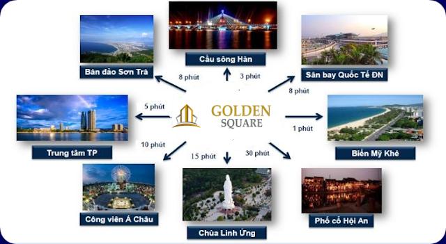 Liên kết vùng dự án Golden Square