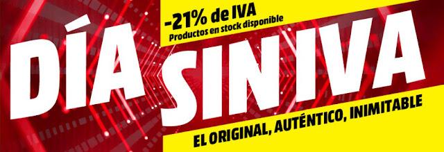 Top 15 smartphones Día sin IVA Media Markt enero 2019