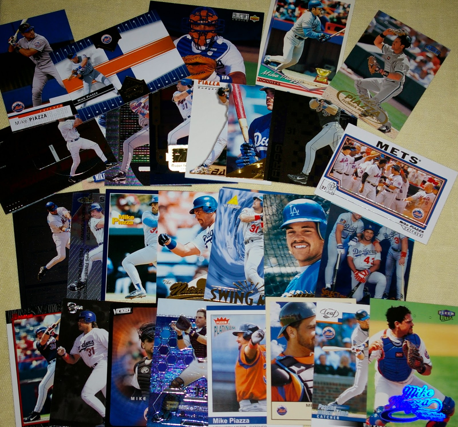 Baseball Card Breakdown The Joy Of A Completed Pc Mike Piazza