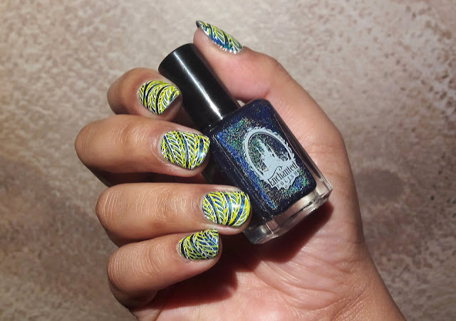 Presto Magic - Enchanted Polish et stamping BPL047