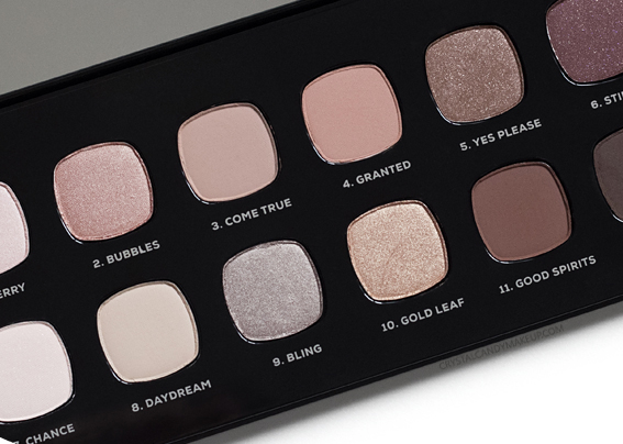 BareMinerals The Wish List Eyeshadow Palette Holiday 2016 Review