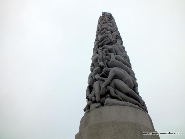 El parque Vigeland Oslo