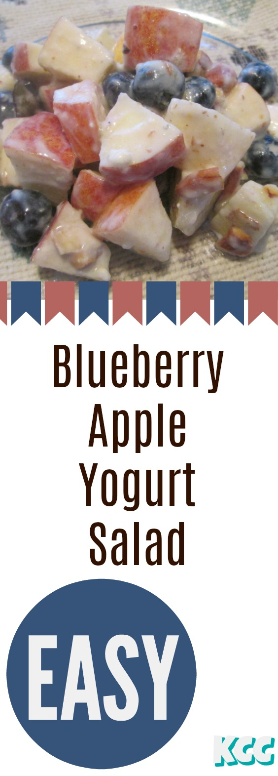 Blueberry Apple Yogurt Salad Recipe