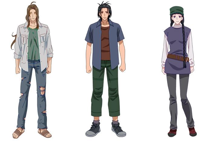 7 Seeds anime - personajes - Equipo Invierno