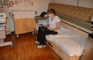 sending emails in the birthing suite