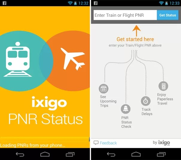 Technology World: ixigo PNR Status Android app aims to end your trip