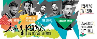 Inspira Un Festival Diferente 2017