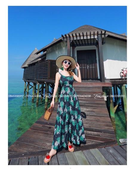 Shop ban vay maxi di bien tai Bui Thi Xuan