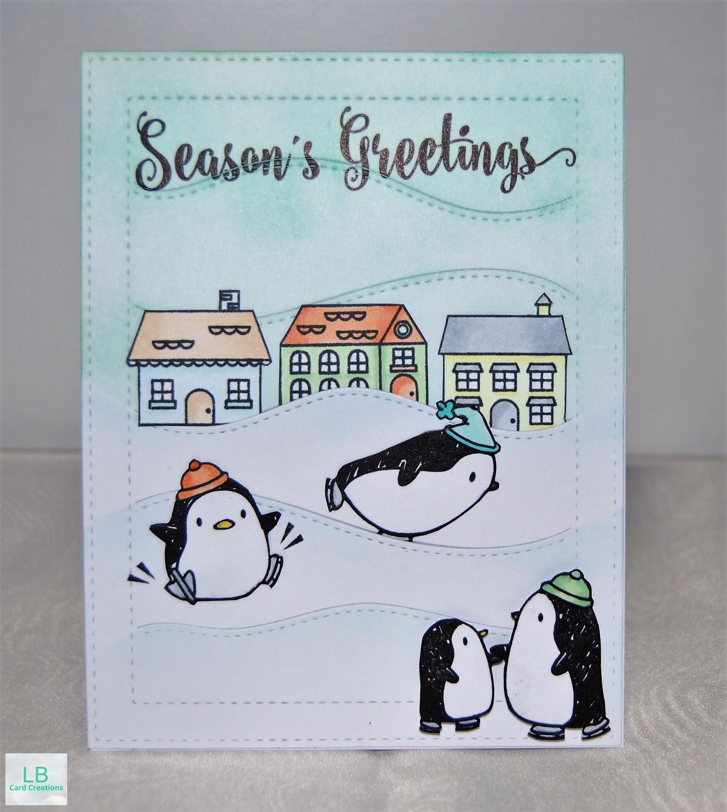 LB Card Creations: Christmas Cards 2016 #3   Mama Elephant