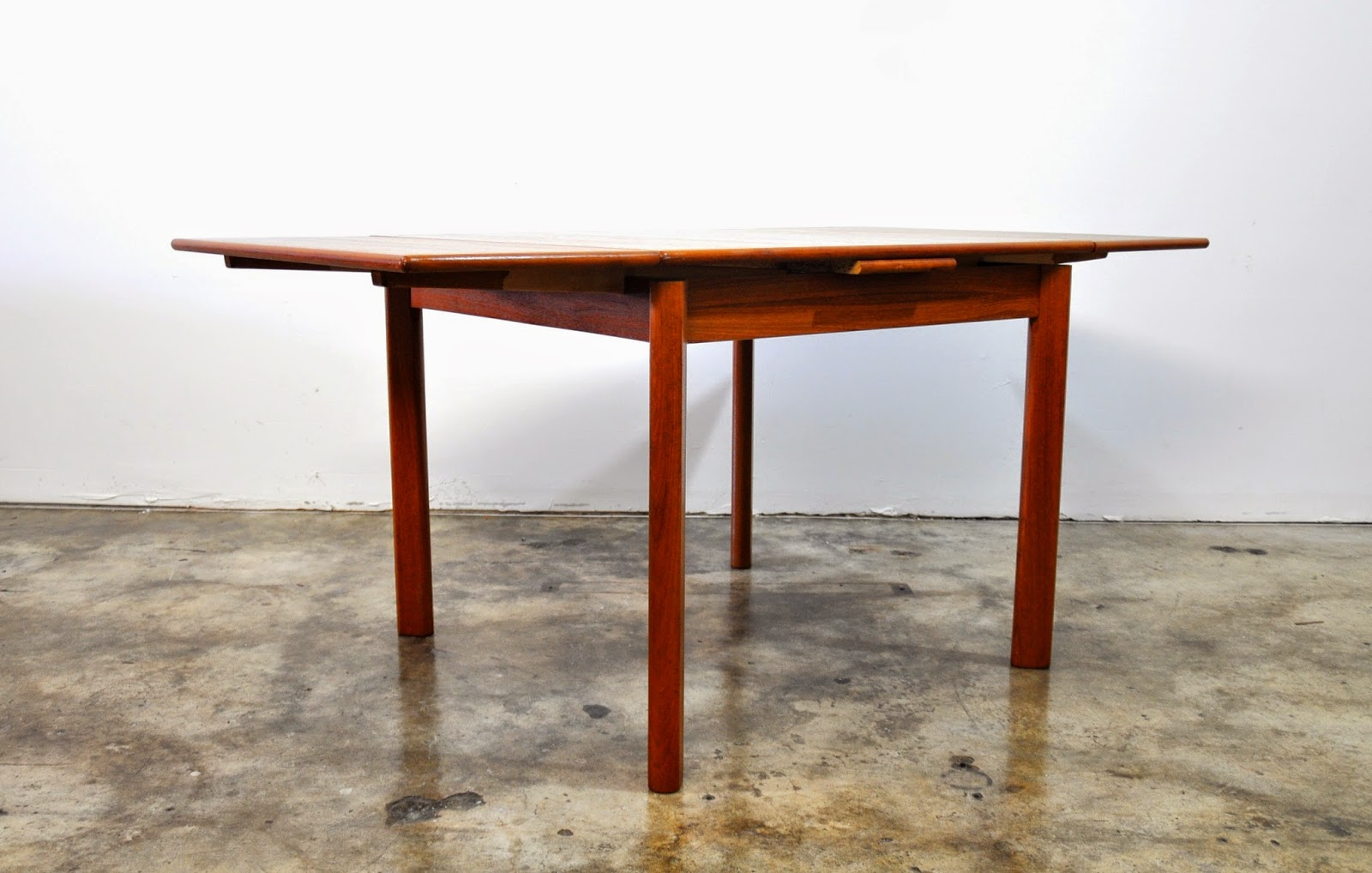 select modern danish modern teak expandable dining room table select modern paul mccobb expandable dining room table