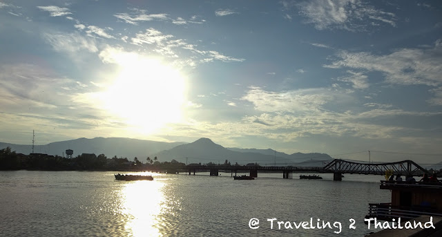 Sunset in Kampot, Cambodia
