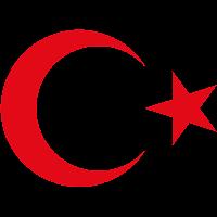 Logo Gambar Lambang Simbol Negara Turki PNG JPG ukuran 200 px