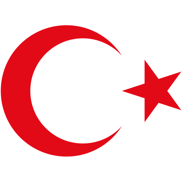 Logo Gambar Lambang Simbol Negara Turki PNG JPG ukuran 600 px
