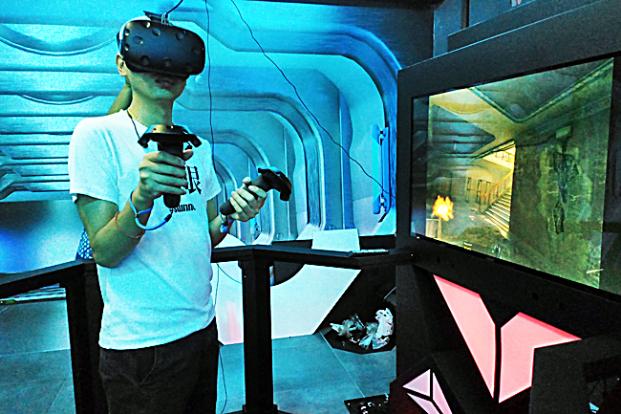 Arkade VR harus sosial untuk berhasil