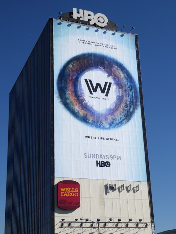 Giant Westworld season 1 billboard