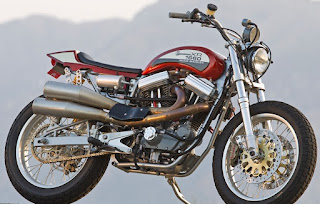 the punisher sportster street tracker 1600 cc by mule motorcycles