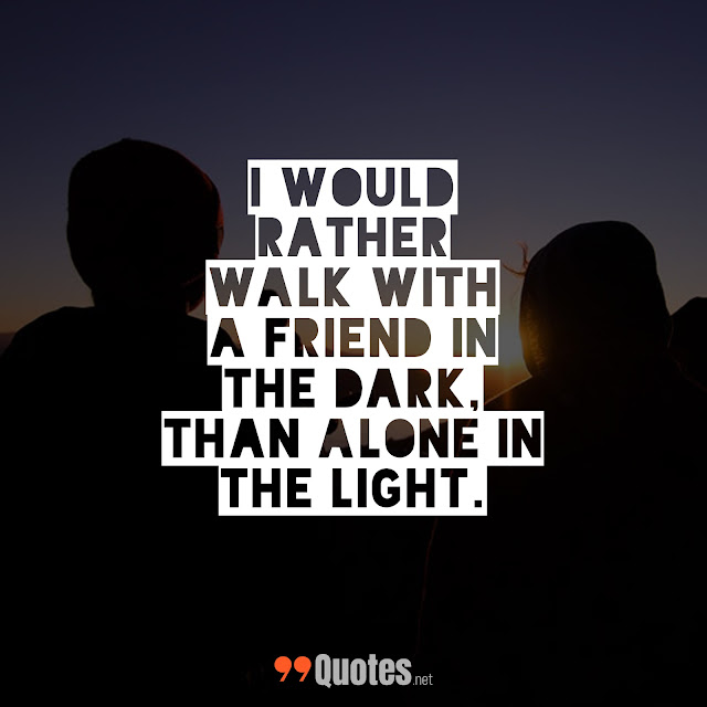 best thought on friendship