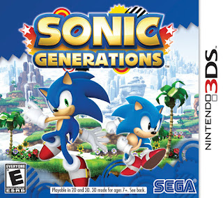 Sonic Generations USA 3DS GAME [.3DS]