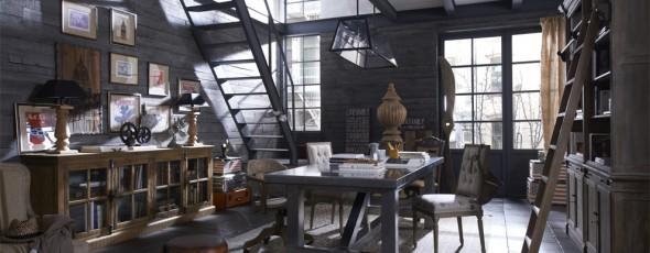 Boiserie c arredamento in stile new industrial vintage for Interno case americane