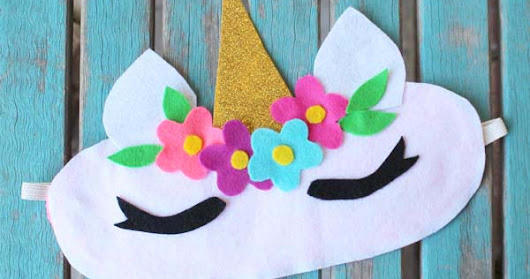 How to Make a Unicorn Horn Sleep Mask from a Recycled T-Shirt